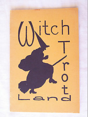 Witch Trot Land Booklet Written by a Couple of Witches Maine Counties 1937