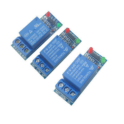 3pcs 5V Single 1 Channel Relay Module Board Shield For Arduino Raspberry PI USA