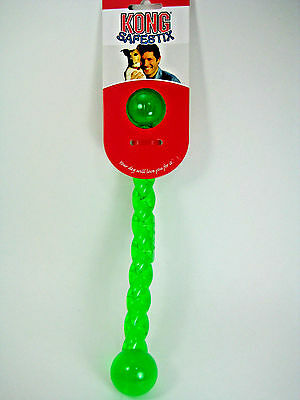 """KONG SAFESTIX Dog Durable Rubber Throw Stick 12"""" Floating Dog Toy, Heavy Duty, S"""