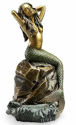 Nautical Mermaid Cellphone Holder With Bluetooth Speaker Tabletop Decor SPI Home