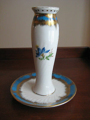 Vintage Porcelain Hatpin Holder  Kpm Germany Very Good Condition