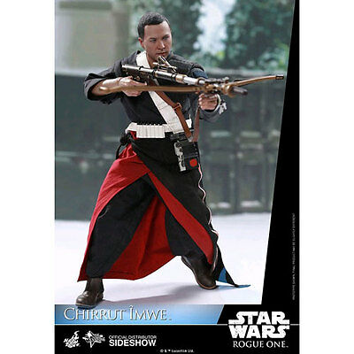 "Star Wars: Rogue One - Chirrut Imwe 12"" 1:6 Scale Action Figure NEW Hot Toys"