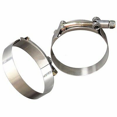 X2 3.00'' Stainless Steel T-Bolt Clamp Turbo Intake Silicone Hose Clamps Honda