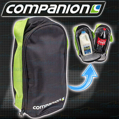 Companion Insulated Bottle Soft Cooler Day Trip Camping Portable Bag Comp9248