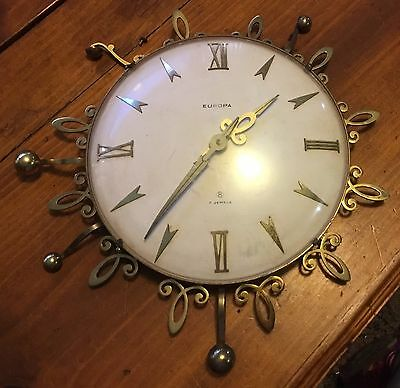 EUROPA Clock Vintage Needs Some Attention