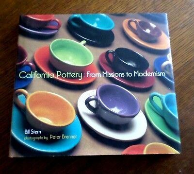 ~California Pottery: From Missions To Modernism~ Bill Stern 2001 !