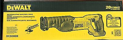 Dewalt 20V Reciprocating Saw Tool Only DCS380B