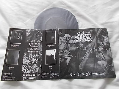 "GOATFIRE The Fifth Fulmination 7"" EP Ltd only 500 (1999 RELEASE!)"