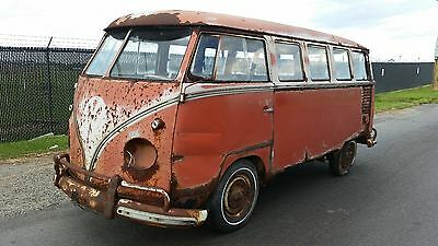 1960 Volkswagen Bus/Vanagon 15 Window 1960 VW 15 Window Micro Bus - Same Owner Since 1971 - Great Patina Candidate