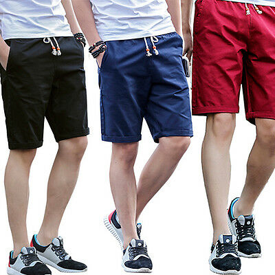 Mens Shorts Summer Men's Casual Shorts 1Pcs Cotton Fashion Beach Shorts