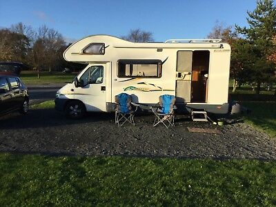 Motorhome for hire, £50 per day + insurance.