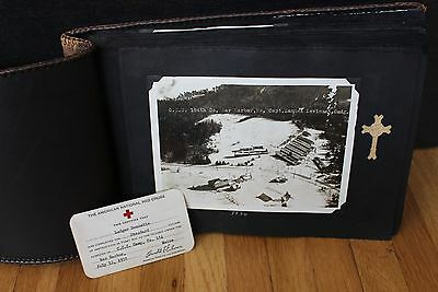 WWII 1934 Red Cross Civilian Conservation Corps CCC Photograph Book Photo Album