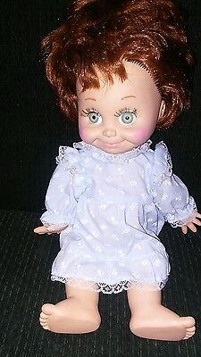 L@@k Baby Face Doll 1990 Vintage Baby Doll #9 Collectable Baby Face Doll