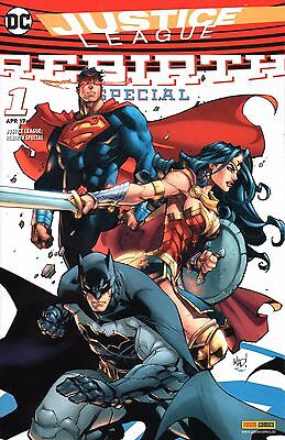 DC Comics JUSTICE LEAGUE Rebirth Comic Special # 1: Variant-Cover, limitiert