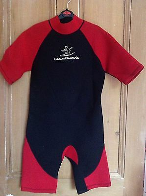 2 Childrens Hammerhead Wetsuits Xl And L
