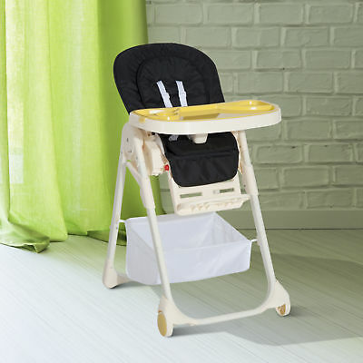 Baby High Chair Infant Feeding Seat Toddler Adjustable Recline 108