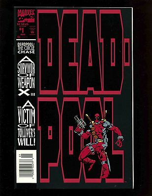 Deadpool The Circle Chase Ltd #1 NM- Madureira 1st Weasel Juggernaut Weapon X