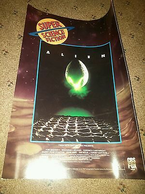 Vintage Alien Lobby card poster CBS fox super science fiction 1990