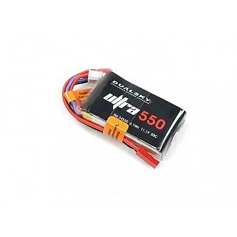 Dualsky 550mAh 3S 11.1V 50C Lipo Battery With JST Suit Blade Torrent  DSBXP05503