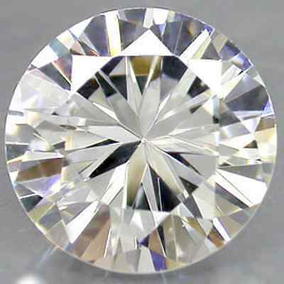 Diamant Synthetique Cubic Zirconia 8,00 Mm 3,46 Ct Qualite Aaa Brillant++