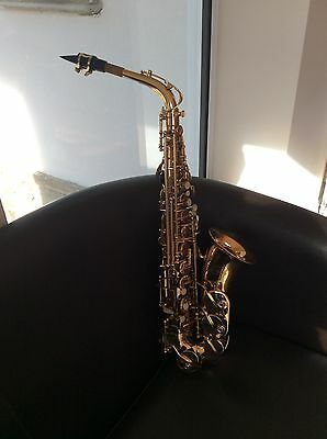 Odyssey OAS130 Debut Alto Saxophone Outfit in ABS Case