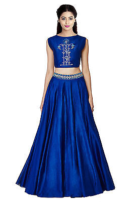 Wedding Indian Designer Ethnic Bollywood Un Stitched Bridal Lehenga Choli Set_N4