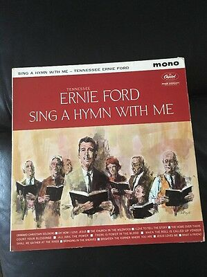 **tennessee Ernie Ford*~Sing A Hymn With Me~Uk Capitol~St 1332~Stereo~1960~Vg/ex