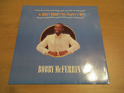"BOBBY McFERRIN - DON'T WORRY, BE HAPPY Vinyl 12"" UK 1988 Soul Jazz"