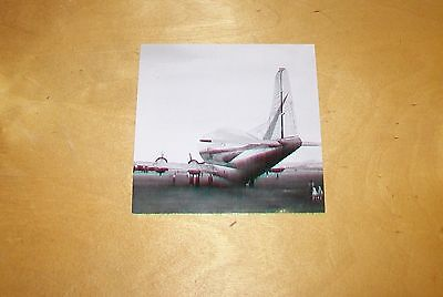 Boeing B-377Pg Aircraft Aero Spacelines Modified Photograph 1962 Stratocruiser