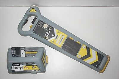 Radiodetection g CAT4+ and Genny4 Cable Avoidance Tool System pipe locator Kit