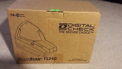 Digital Check TellerScan TS-240 Document Scanner