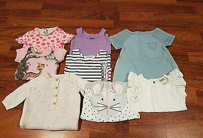 Mixed Lot x8 Baby Girl Bonds Rock Your Baby Seed 0-3 Months 000
