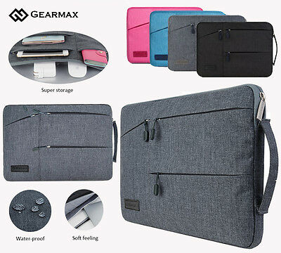 Gearmax Laptop Notebook Sleeve Carry Bag Case For Macbook HP Dell 13 Inch Laptop
