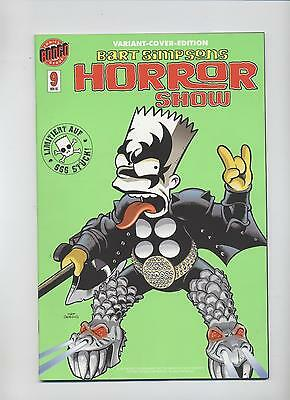 BART SIMPSONS HORROR SHOW # 9 VARIANT - COMIC ACTION 2005 - 666 Ex. - TOP