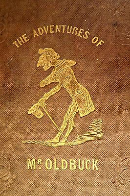 World's 1st COMIC BOOK 1841 Obadiah Oldbuck Mr. Vieux Bois by TOPFFER First Ed