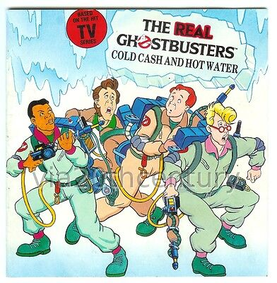 1980s Book Real Ghostbusters Cold Cash & Hot Water Rainbow communications Ltd