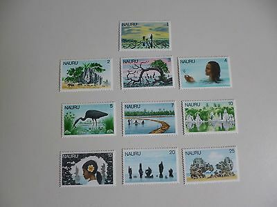 Nauru. 1978  10 Unmounted Mint Stamps As Shown In Photographs