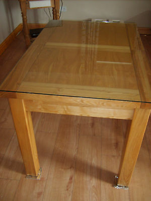 Extendable Solid Oak Dining Table