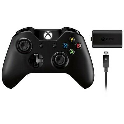 Microsoft Xbox One Wireless Controller + Play and Charge KIT - 934782PRZ