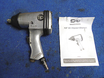 """SIP 01608 1/2"""" Air Wrench (WORKING 2076)"""