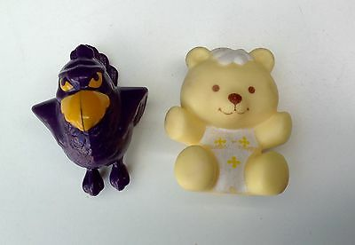 Two Strawberry Shortcake Friends Pets. Berry Bird and Jelly Bear. 1970/1980s.