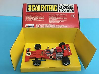 Tyrrell Ford Rojo Scalextric Exin Ref C-48 Con Caja Renault R-5 4058