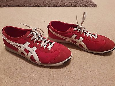 Onitsuka Tiger Red US13 Sneakers
