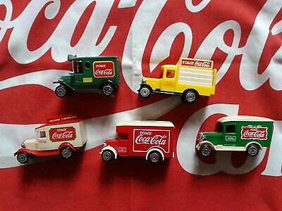 Coca cola plastic truck collection from Mexico