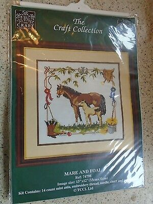 Cross Stitch Kit - The Craft Collection, Mare & Foal 74798