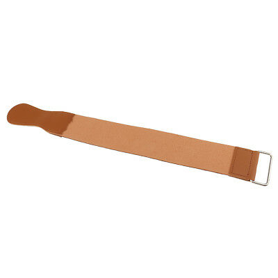 Leather Barber Shaving Straight Razor Sharpener Strop Hone Strap Shave Belt