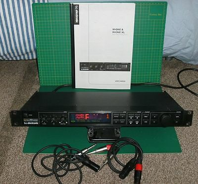 TC Electronic M-One XL Dual Effects Processor