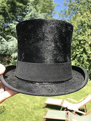 Silk Top Hat. Ascot. Wedding. Size 7