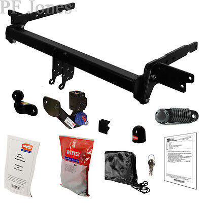 Witter towbar for jeep cherokee atv suv 2014 on detachable tow witter towbar for ford mondeo mk5 hatchback 2014 on detachable flange tow bar asfbconference2016 Image collections