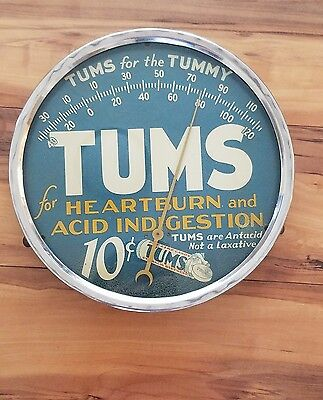 Rare Vintage Tums Thermometer Tums for the tummy